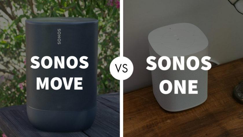 Sonos Move vs Sonos One Speaker