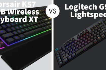 Corsair K57 RGB Wireless Keyboard XT Vs Logitech G915 Lightspeed