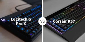 Logitech G Pro X Gaming Keyboard Vs Corsair K57 RGB Wireless Keyboard