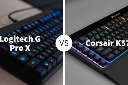 Logitech G Pro X Gaming Keyboard Vs Corsair K57 RGB Wireless Keyboard