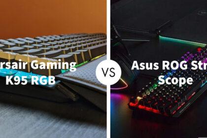 Corsair Gaming K95 RGB Platinum XT Vs Asus ROG Strix Scope