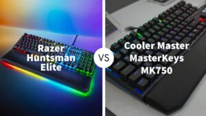 Razer Huntsman Elite Vs Cooler Master MasterKeys MK750