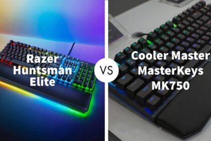Razer Huntsman Elite Vs Cooler Master MasterKeys MK750
