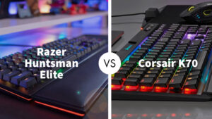 Razer Huntsman Elite Vs Corsair K70 RGB MK.2