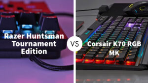 Razer Huntsman Tournament Edition Vs Corsair K70 RGB MK.2