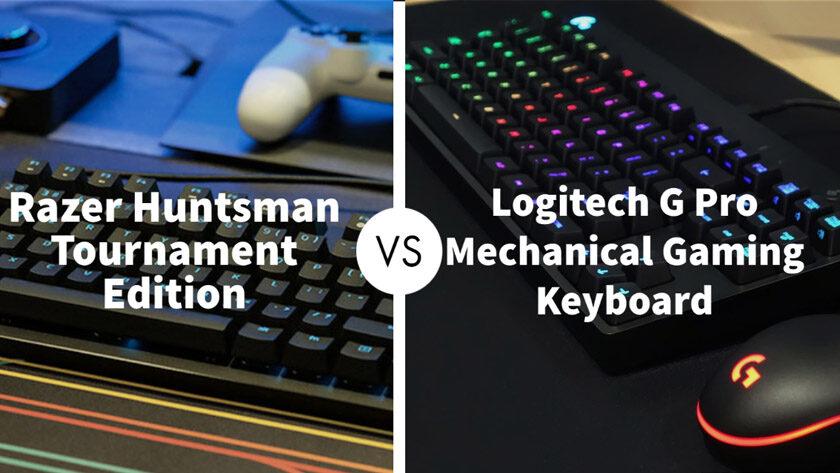 Razer Huntsman Tournament Edition Vs Logitech G Pro Mechanical Gaming Keyboard