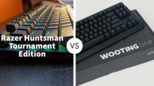 Razer Huntsman Tournament Edition Vs Wooting One