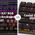 Corsair K57 RGB Wireless Keyboard XT Vs Cooler Master SK621