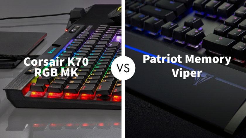 Corsair K70 RGB MK vs Patriot Memory Viper