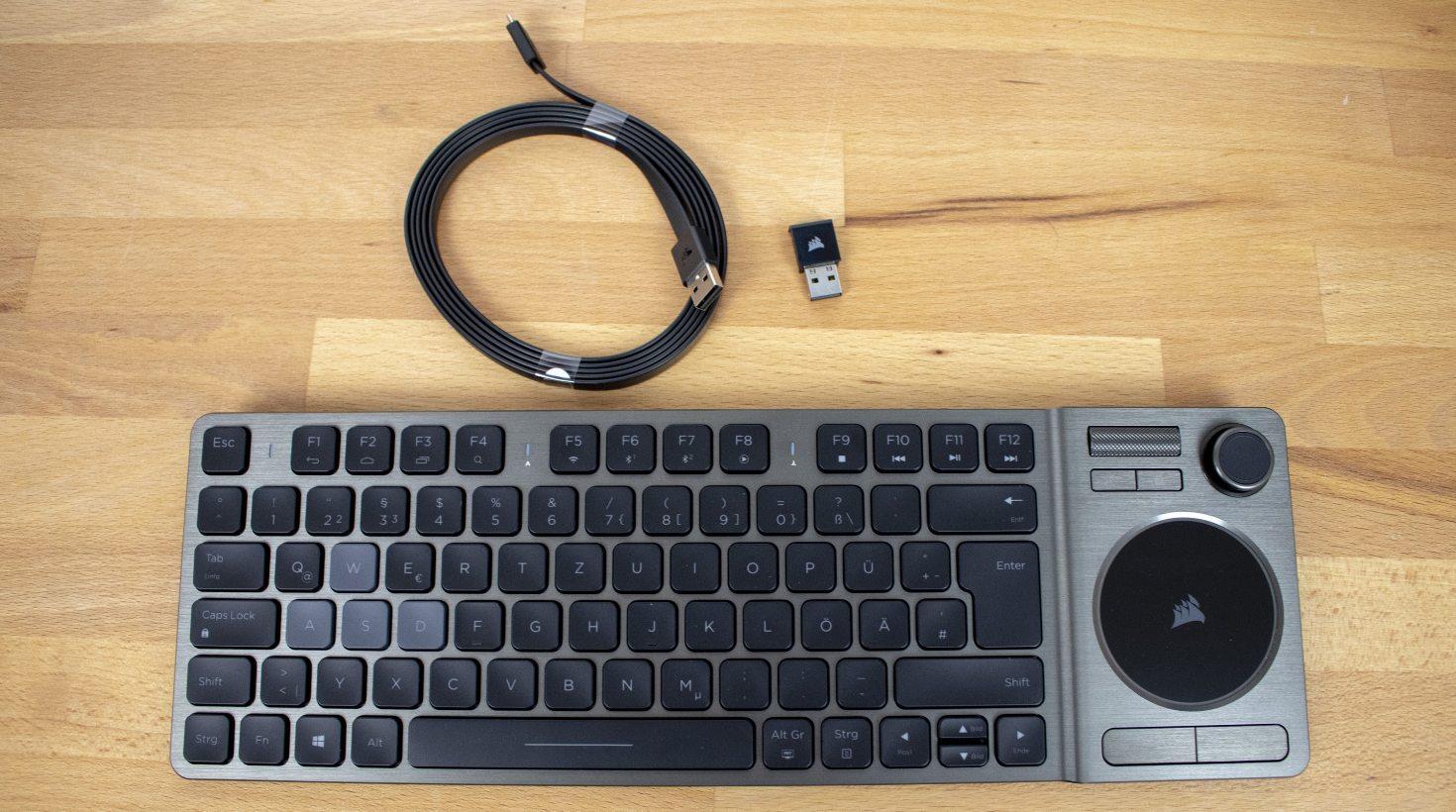 Corsair K83 Entertainment Wireless Keyboard