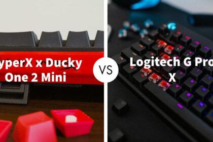 HyperX x Ducky One 2 Mini Vs Logitech G Pro X