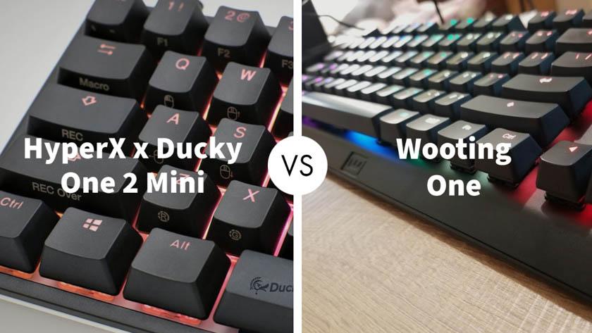 HyperX x Ducky One 2 Mini Vs Wooting One