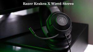 Razer Kraken X Wired Stereo Gaming Headset Review