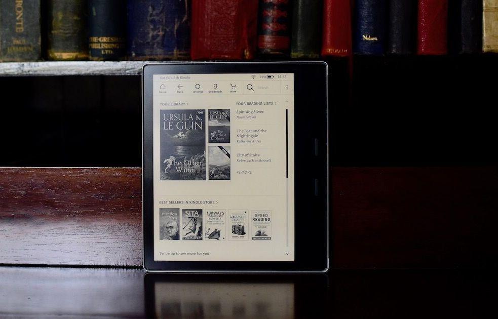 Amazon Kindle Oasis (2019) Review