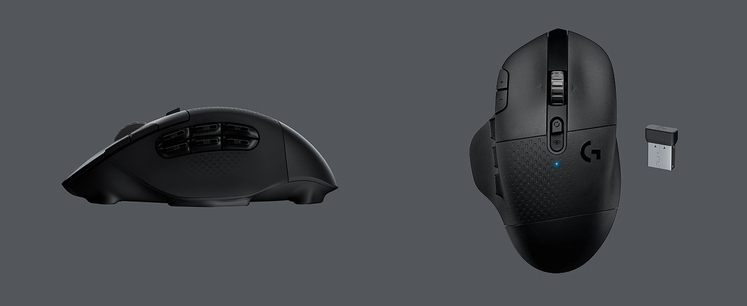Logitech G604 Wireless Optical Gaming Mouse