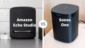 Amazon Echo Studio vs Sonos One