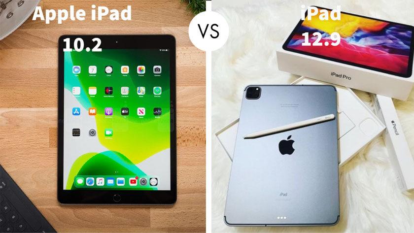 Apple iPad 10.2 vs iPad 12.9