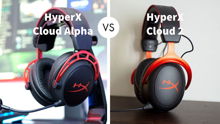 HyperX Cloud Alpha vs HyperX Cloud 2