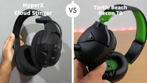 HyperX Cloud Stinger vs Turtle Beach Recon 70