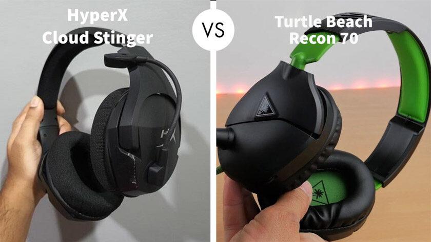 HyperX Cloud Stinger vs Turtle Beach Recon 70