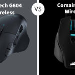 Logitech G604 Wireless vs Corsair M65 Wired