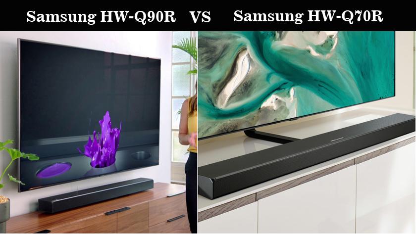 Samsung HW-Q90R vs Samsung HW-Q70R